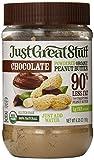 Just Great Stuff Powdered Organic Peanut Butter, Chocolate, 6.35 Ounce