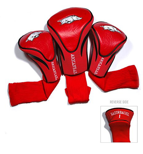 University of Arkansas Contour Sock Headcovers (3 - 3 Headcovers Pack Sock