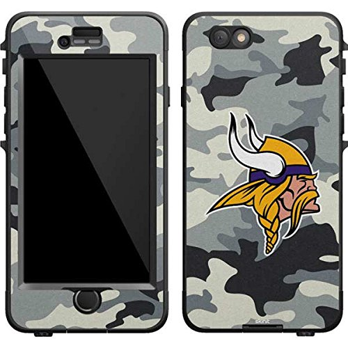 Skinit Minnesota Vikings Camo LifeProof Nuud iPhone 6 Skin for CASE - Officially Licensed NFL Skin for Popular Cases Decal - Ultra Thin, Lightweight Vinyl Decal Protection