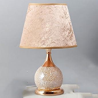 lampe mit perlen