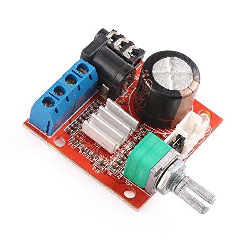drok mini stereo amp audio amplify board digital portable ampli module 10w 10w dual channel. Black Bedroom Furniture Sets. Home Design Ideas