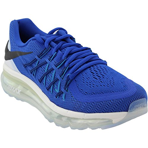 0476f82d68 Galleon - Nike Air Max 2015 (GS) Boys Running Shoes 705457-401 Game Royal  White-Blue Lagoon-Black 4 M US