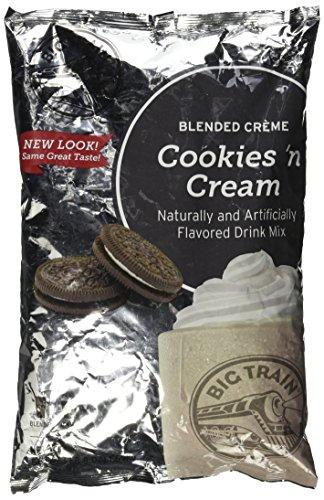 Big Train Cookies and Cream 3.5 lb bulk (Big Train Iced Coffee)