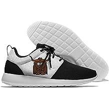 Funny Cartoon Cute Yak Clipart Mens Womens Leisure Sports Shoes Fashion Walking Sneakers