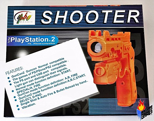 PS2/PSX Mini Light Gun w/ USB port