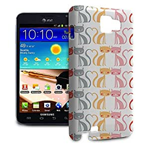 Phone Case For Samsung Galaxy Note - Kitty Love Protective Lightweight