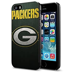 NFL Green Bay Packers Logo, Cool iPhone 6 plus 6 plus Smartphone Case Cover Collector iphone Black Kimberly Kurzendoerfer
