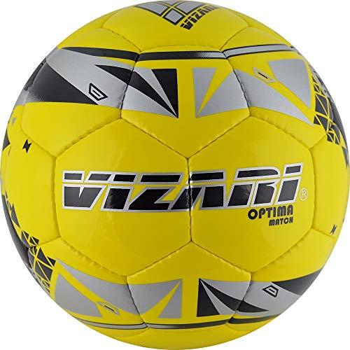 Vizari Optima Match NFHS Balón de fútbol, Amarillo, 4