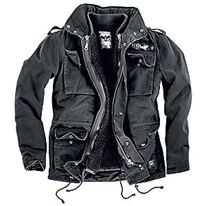 Black Premium by EMP Veste Army Vintage Homme Veste d'hiver noir, , Regular / Coupe standard