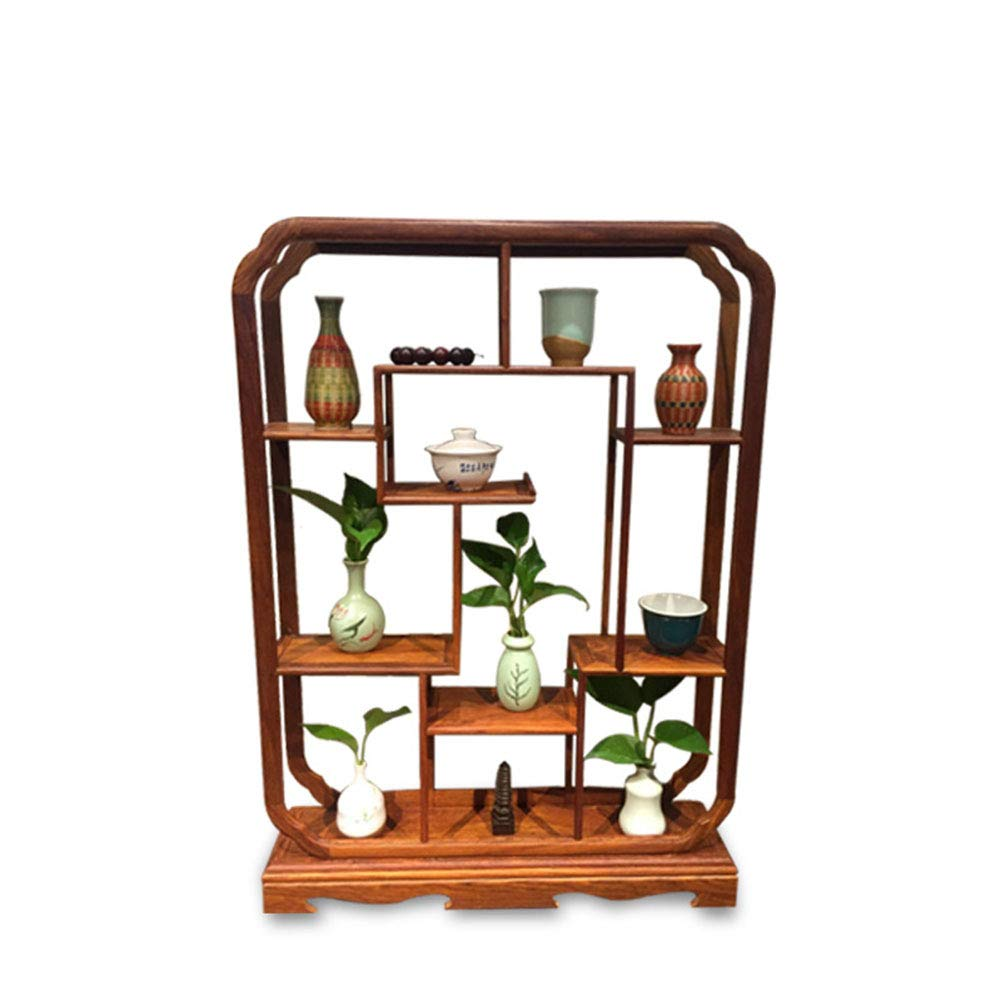 memorizzare Exing Flower Flower Flower Stand, Personality Display Stand Rack di stoccaggio Plant Flower Display Stand a più Livelli verdeical Flower Pot Rack (Dimensione   61  14  85cm)  alta quaità