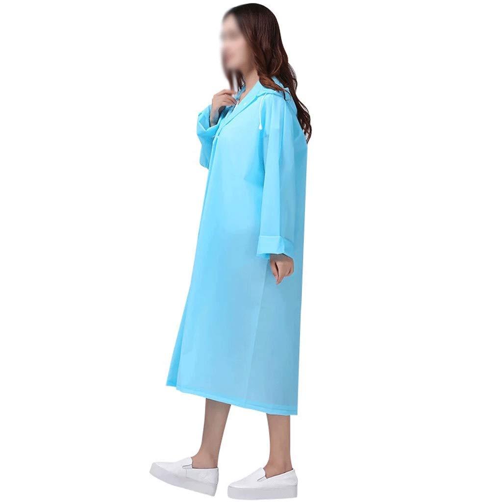 bleu S-1 pack Xuejuanshop-Vestes coupe-pluie Non-jetable Long Imperméable Adulte épaississeHommest épaississeHommest Simple Poncho Voyage portable Imperméable Imperméable