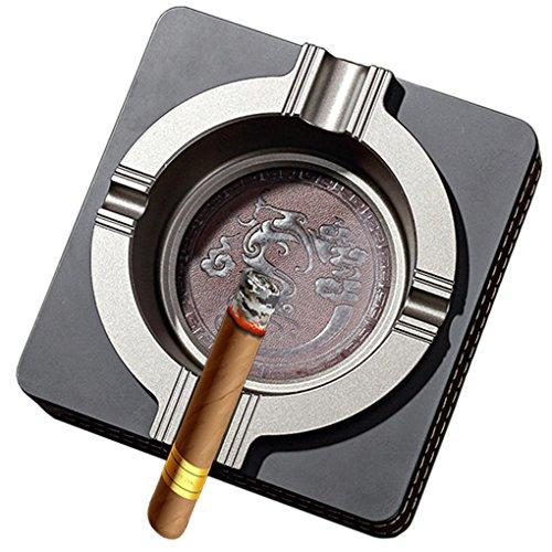 Cheap  Luxury Ashtray Metal Outdoor Cigarette Ashtray for Patio Home Table Modern Ashtrays..