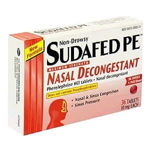 Nasal decongestent