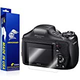 ArmorSuit MilitaryShield - Sony DSC-H300 Camera Screen Protector Anti-Bubble Ultra HD - Extreme Clarity & Touch Responsive Shield with Lifetime Free Replacements - Retail Packaging