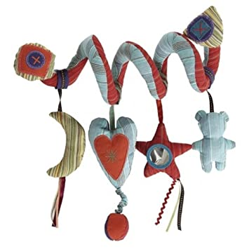 MAMAS AND PAPAS HANGING MIRROR ACTIVITY TOY