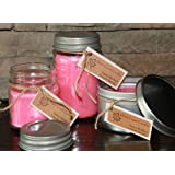 Maple Creek Candles Cotton Candy ~ Light & Sweet ~ Soy Wax Blend 8oz jar Candle