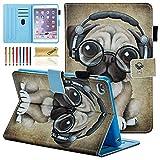 iPad Mini 1 2 3 4 Case - Dteck Slim Fit [Photo Frame & Stylus Slot] Multi-Angle View Stand PU Leather Case with Auto Wake Sleep Feature Smart Cover for Apple iPad Mini 1 2 3 4 - Music Dog