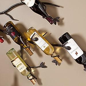 harper blvd keaton wall mount wine rack