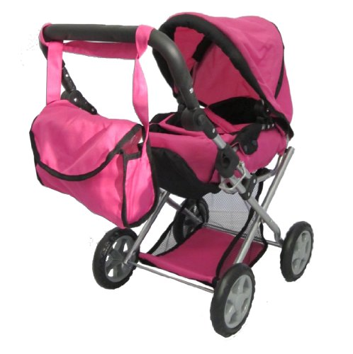 One Doll Pram (Mommy & Me - 5 in 1 Deluxe Doll Pram)