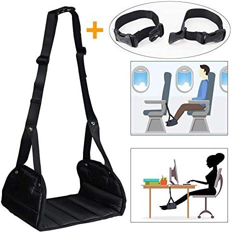 [해외]풋 레스트 비행기 다리 다리 편안 하 게 내장 된 リラックスグ?ス 해외 여행 여행 사무실 차량용 신칸센 야간 버스 여행 편리 상품 편안한 안락한 여행 용품 휴대용 수납 팩 된 「 2019 개량 판 」 / Footrest Airplane Foot rest Easy in-flight Re...