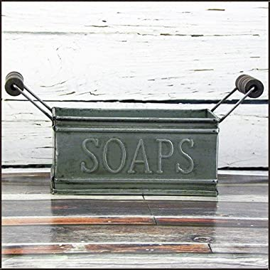 Vintage Lil' Soap Tin Holder (8.25  X 4.25  X 3.25 )