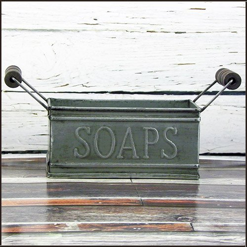 Vintage Lil' Soap Tin Holder