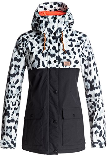 Snow Cruiser (DC Women's Cruiser Tailored Fit Snow Jacket, Snow Leopard, M)