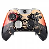 """Scarlet"" Xbox One ELITE Rapid Fire Custom Modded Controller 40 Mods for All Major Shooter Games, Auto Aim, Quick Scope, Auto Run, Sniper Breath, Jump Shot, Active Reload & More Review"