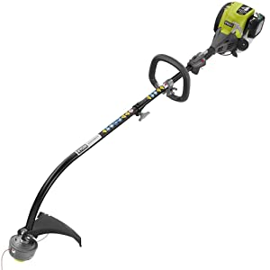 Ryobi 4-Cycle RY4CCS Attachment Capable Curved Shaft Gas Trimmer