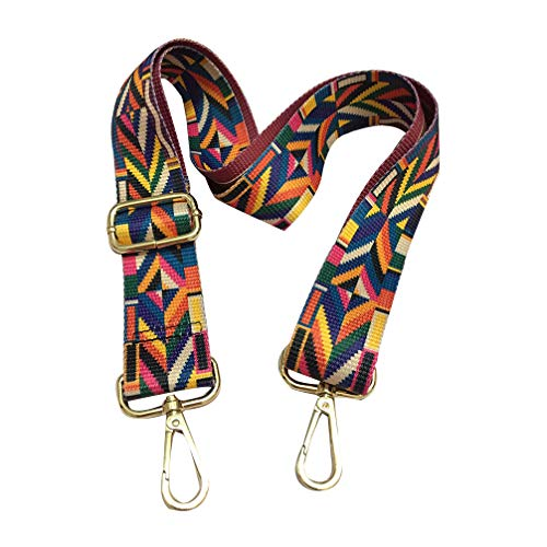 - Seearay Strap Replacement Colorful Crossbody Strap Universal Handbags Strap Purse Guitar Strap Adjustable Strap Shoulder Strap (Colorful#2)