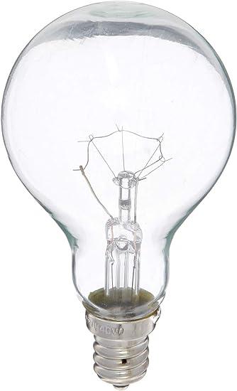 NEW Feit 40 watt A15 Clear 4 Bulbs  Pack 130V Appliance smaller than regular