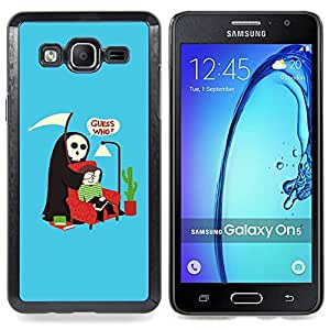 Guess Who Quote Death Parody Humor Art Caja protectora de pl??stico duro Dise?¡Àado King Case For Samsung Galaxy On5 SM-G550FY G550