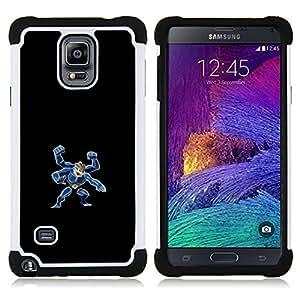 For Samsung Galaxy Note 4 SM-N910 N910 - Machamp P0Kemon H???¡¯????brido Protecci???¡¯????n completa dual de alto impacto Capa Funda - Cash Case -