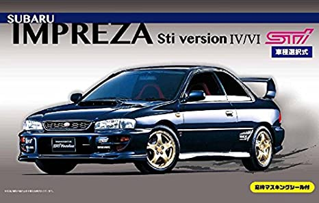 Amazon 1 24 Inch Up Series No99 Subaru Impreza Sti Version Iv