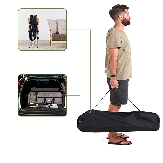 Amazon.com: GWFYXGS Ultralight Portatil Plegable Silla De ...