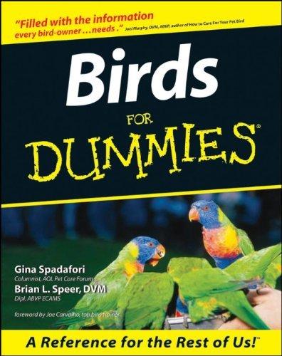 Birds For Dummies by Gina Spadafori (1999-09-24)