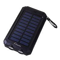 F.Dorla 20000mAh Power Bank Solar Charge...
