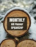 Monthly Bill Planner Organizer: Monthly Bill