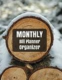 Monthly Bill Planner Organizer: Monthly Bill