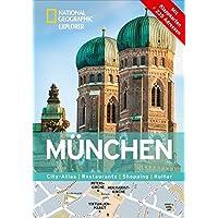 München erkunden mit handlichen Karten: München-Reiseführer für die schnelle Orientierung mit Highlights und Insider-Tipps. München entdecken mit dem München. (National Geographic Explorer)