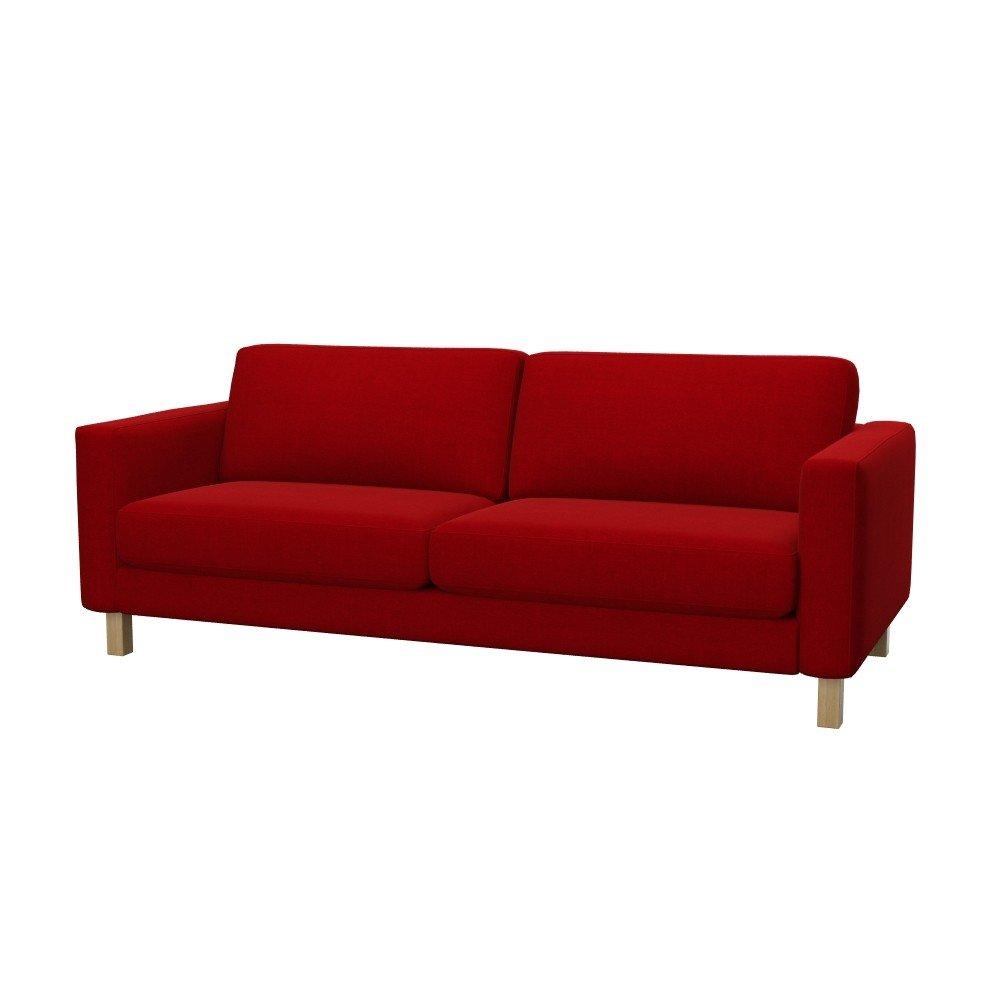 Soferia Housse Supplémentaire IKEA KARLSTAD Canapé 3 Places Tissu Elegance  Red Ameublement Et Décoration