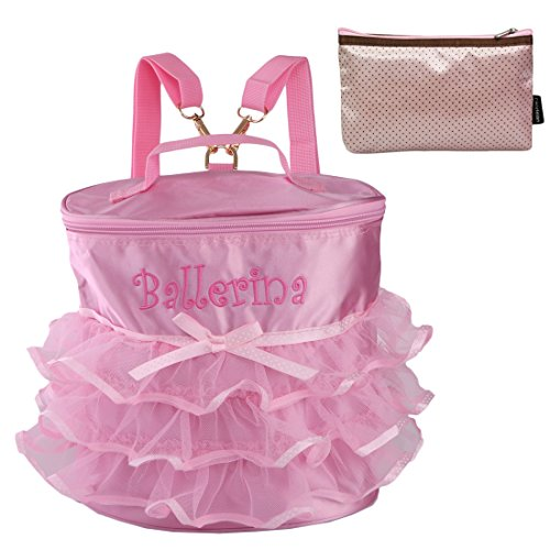 kilofly Ballerina Ballet Barbie Backpack