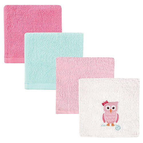 Luvable Friends 4 Piece Super Soft Washcloths product image