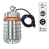IP65 Waterproof 546 Pcs 5730 SMD Chips AC100-277V LED Temporary Work Light Fixture,360 Degree Lighting LED Street Corn Light Bulb,150W,5000K,20250Lm±10%,Plug-n-play,US Plug,UL-listed (150W-5000K)
