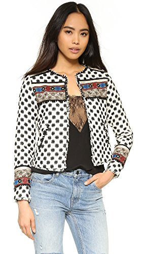 Embellished Silk Jacket - 3