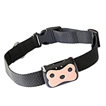 Elisona-Dog Cat Collar Pet GPS + LBS Locator Anti-lost Daily Life Waterproof Realtime Tracking Remote Monitoring with Adjustable Buckle Collar
