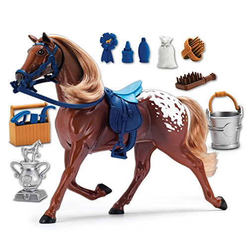 Sunny Days Entertainment Blue Ribbon Champions Deluxe Horse: Appaloosa Toy]()