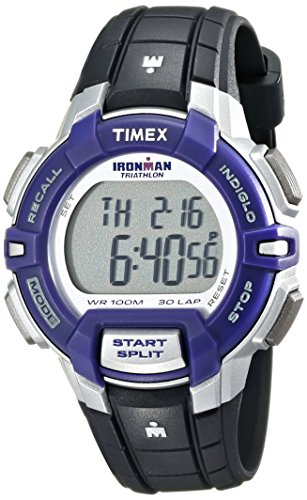 Timex Women's T5K8129J Ironman Rugged 30 Digital Display Quartz Black Watch