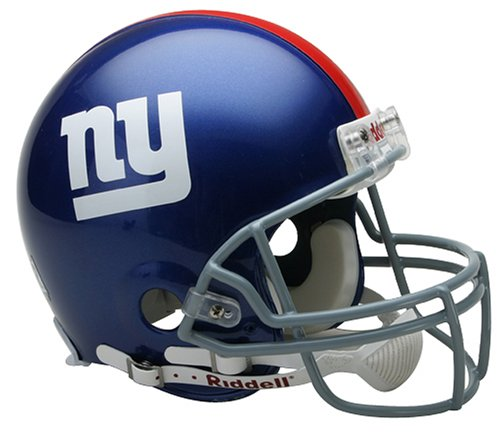 NFL New York Giants Full Size Proline VSR4 Football Helmet by Riddell