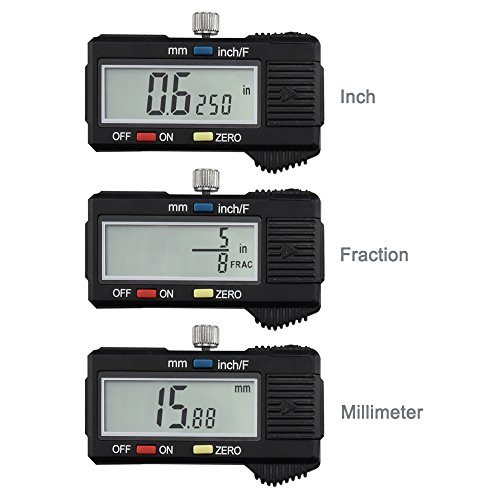 Neiko Steel Digital with Extra-Large LCD SAE-Metric